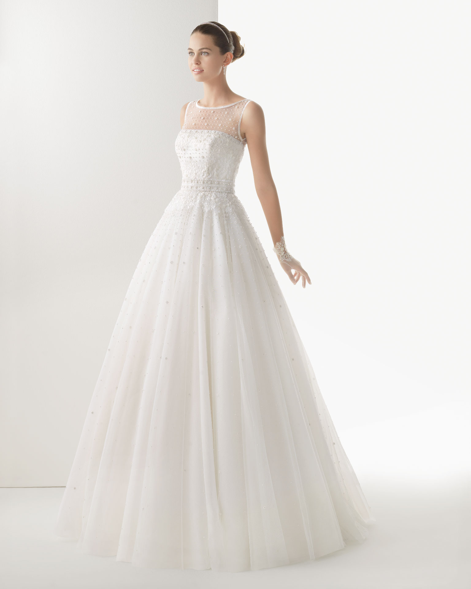 rosa clara wedding dress 2014 bridal cometa