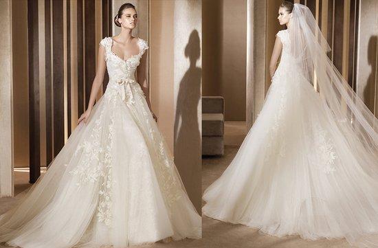 photo of Aglaya wedding dress by Elie Saab, 2012