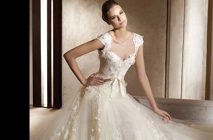 Aglaya wedding dress 2012 bridal gowns elie saab for Elie saab 2012 wedding dresses