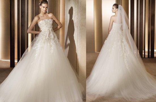 photo of Elie Saab's Stunning 2012 Wedding Dresses
