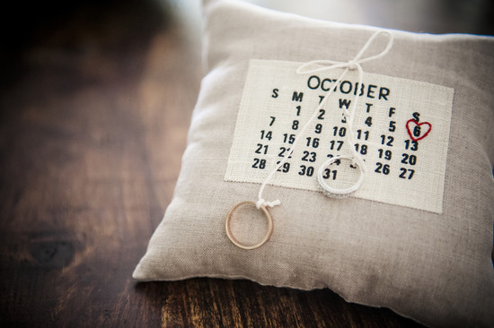most unique ring bearer pillows calendar embroidered