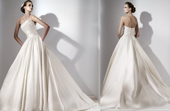 photo of Euterpe wedding dress by Elie Saab, 2012