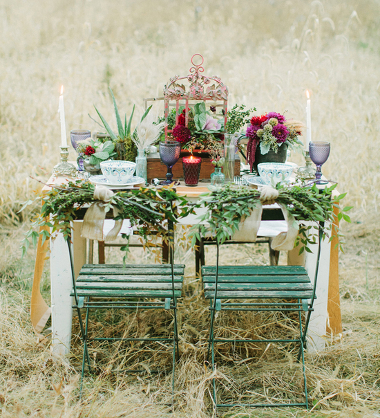 Tablescape Florals by Mobtown Florals