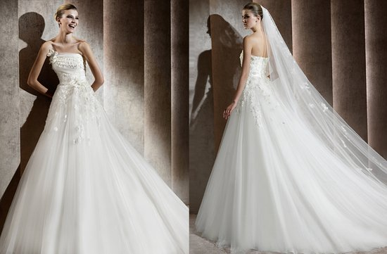 aricia wedding dress 2012 bridal gowns elie saab 2