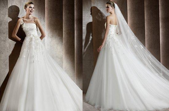 photo of Aricia wedding dress, Elie Saab 2012