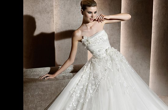 aricia wedding dress 2012 bridal gowns elie saab
