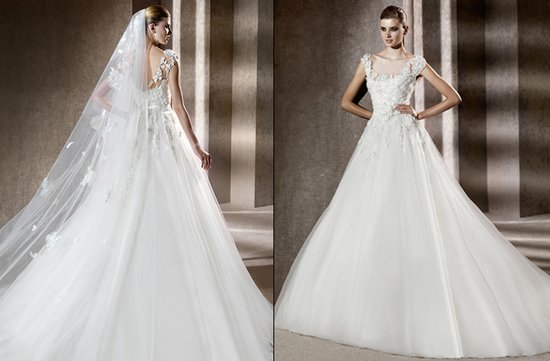 photo of Neftis wedding dress, Elie Saab 2012