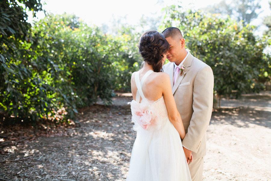 Romantic-claire-pettibone-wedding-dress-with-criss-cross-straps.full