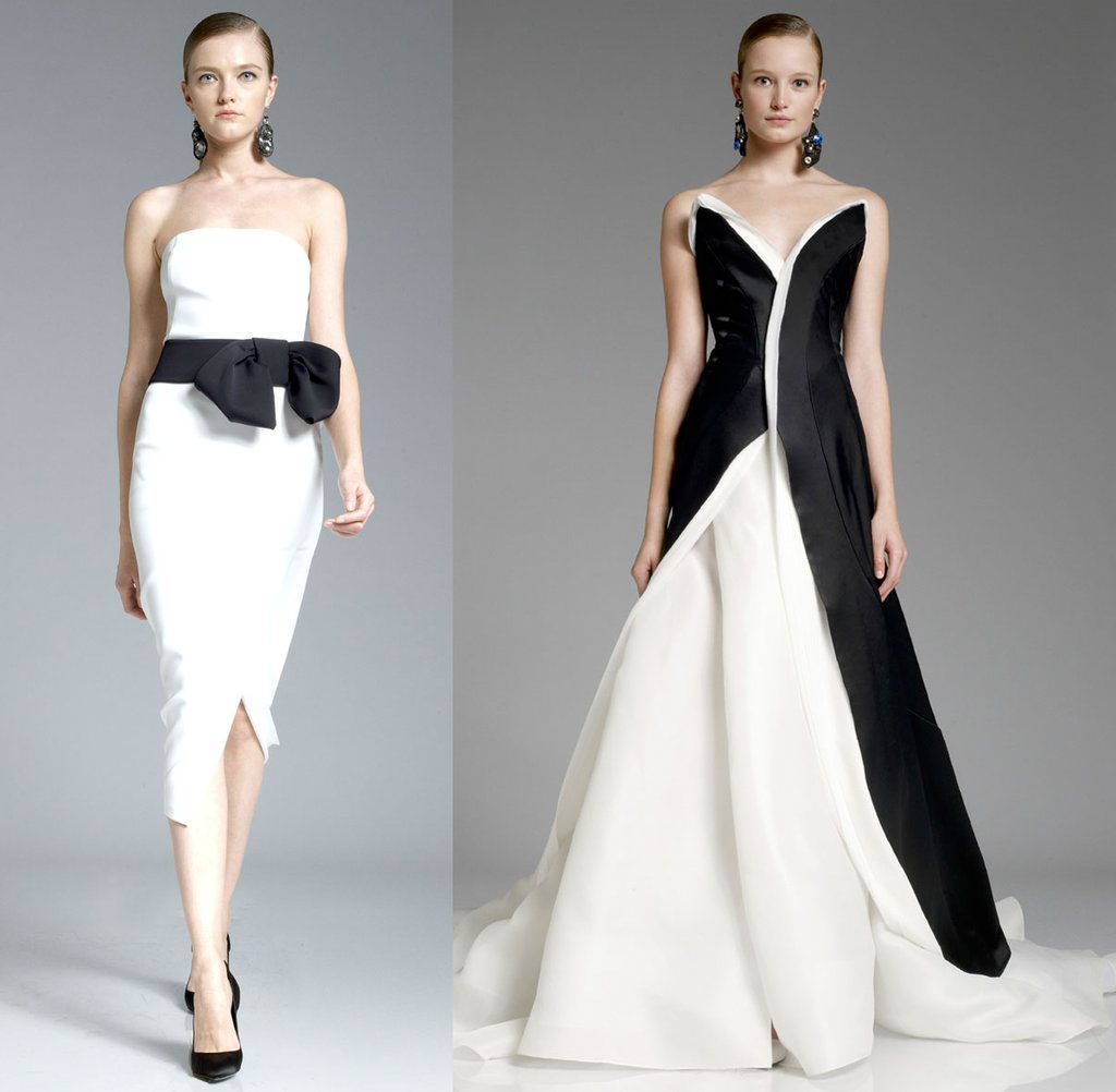 Donna karen wedding dress inspiration for Donna karan wedding dresses