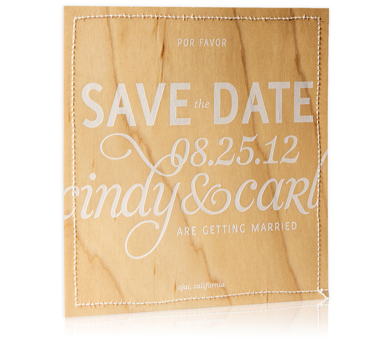 Bliss and Bone Wedding Collection customized invitations Prana