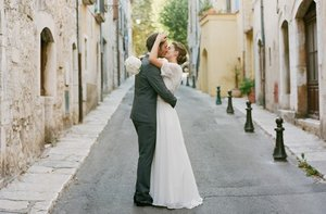 photo of wedding photography must have photos bride groom kiss
