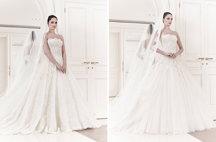 Zuhair Murad Wedding Dresses 2014 Bridal 2