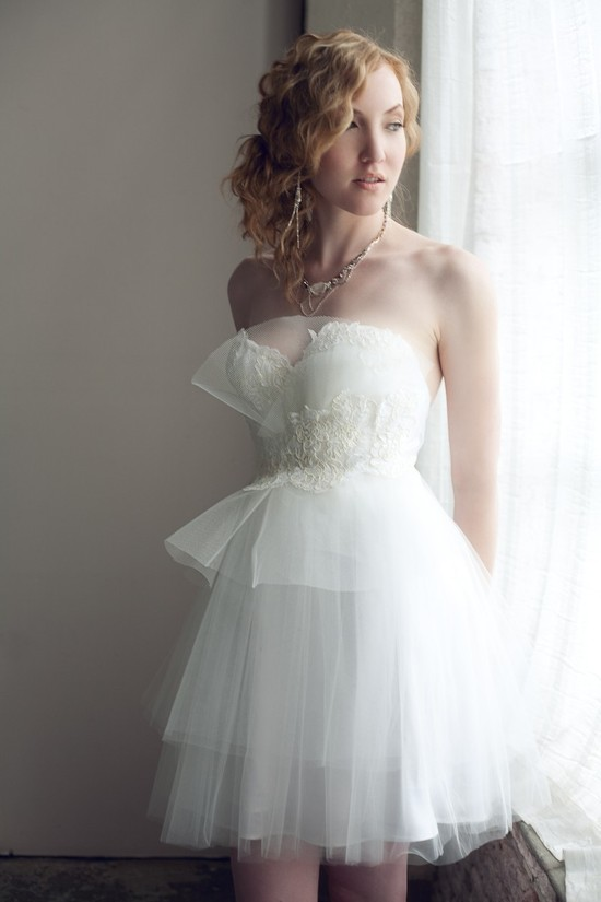 etsy wedding dresses handmade reception dress lace tulle