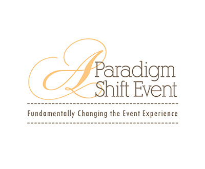 A Paradigm Shift Event Logo (White)