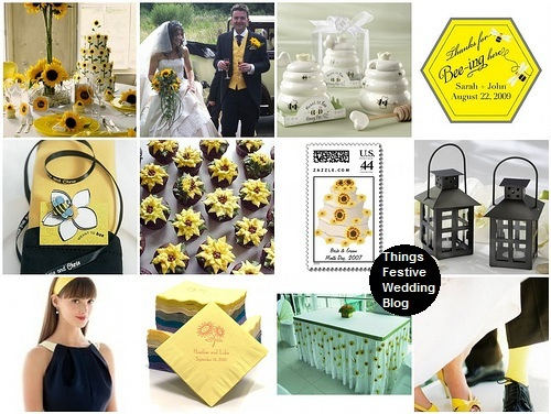 sunflower wedding ideas 2