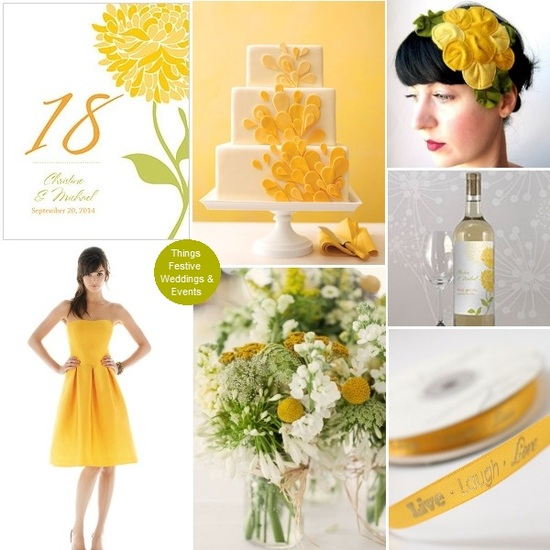 lemon zest wedding
