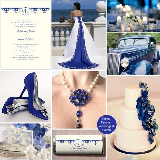 monaco blue wedding
