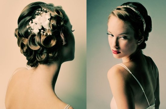 wedding updo hairstyles bridal accessories flowers