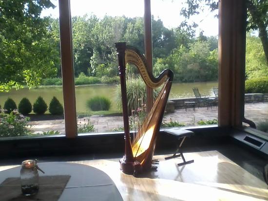 photo of Lydia Haywood, Harpist