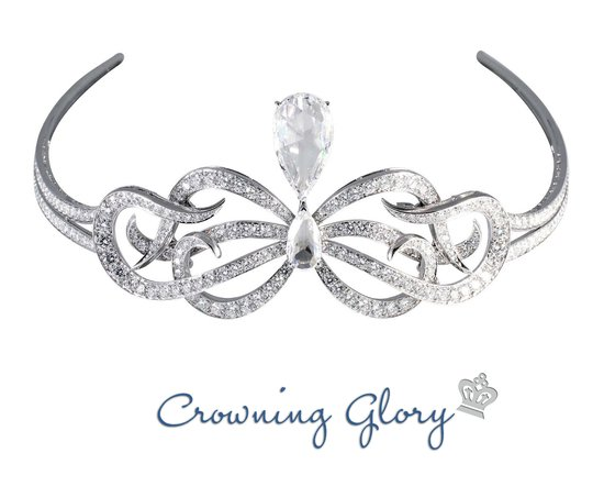2012 wedding accessories trends bridal tiaras