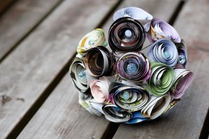 photo of Recycle Me Pretty bridal bouquet