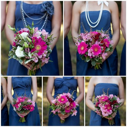 photo of bridesmaids dress ideas coordinating bridesmaids dresses blue