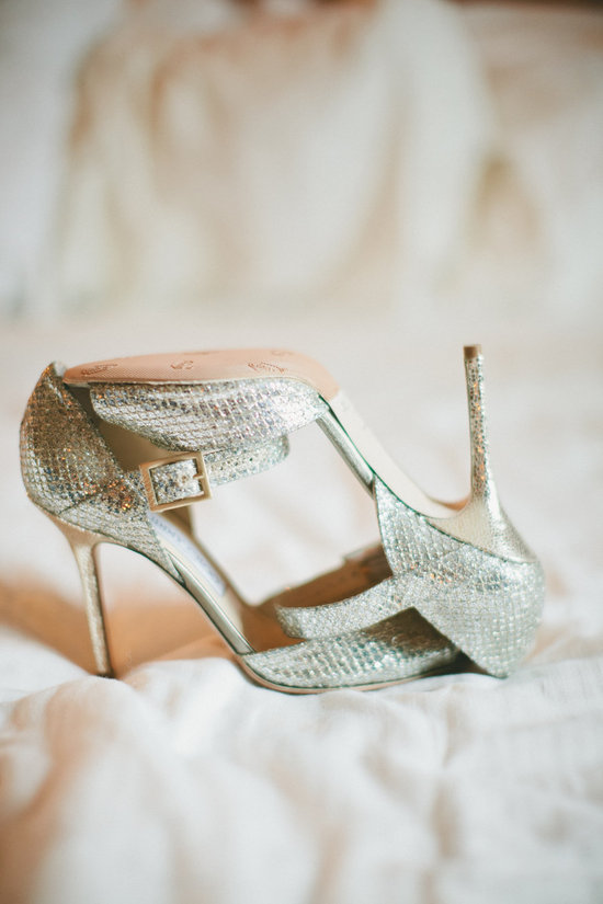 Sparkly Jimmy Choo wedding shoes photography wish list