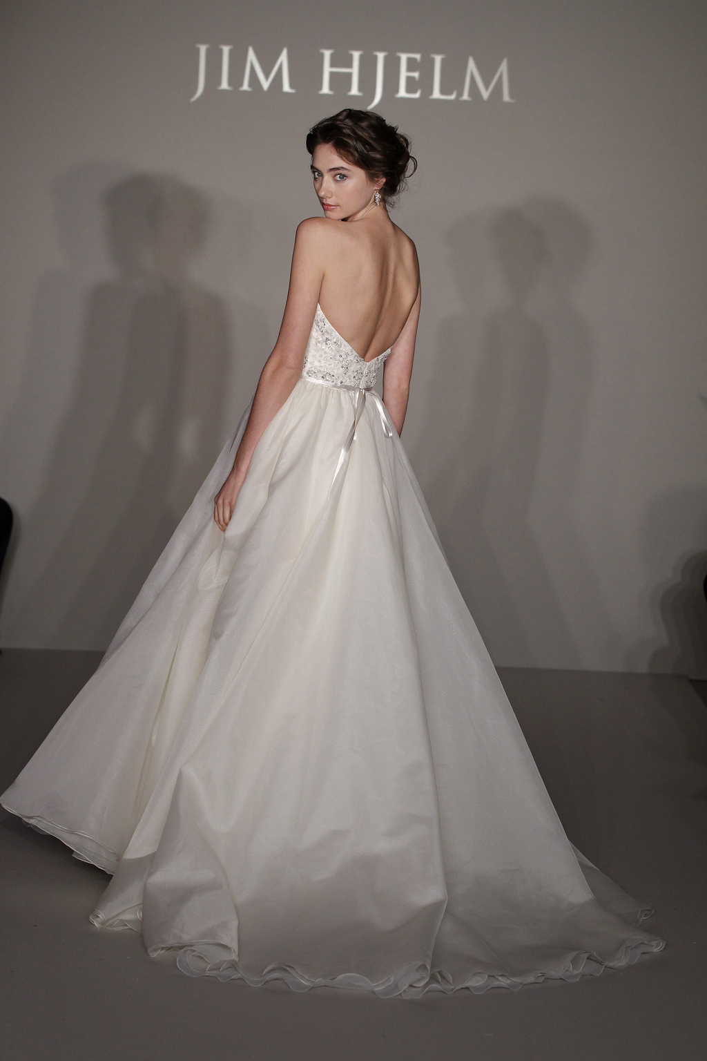 Jim hjelm bridal gowns spring 2012 for Jim hjelm wedding dresses