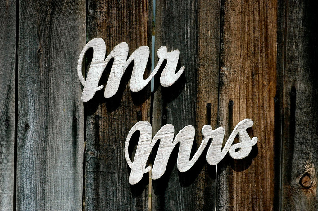 Washed-out-wood-wedding-sign-mr-and-mrs.full