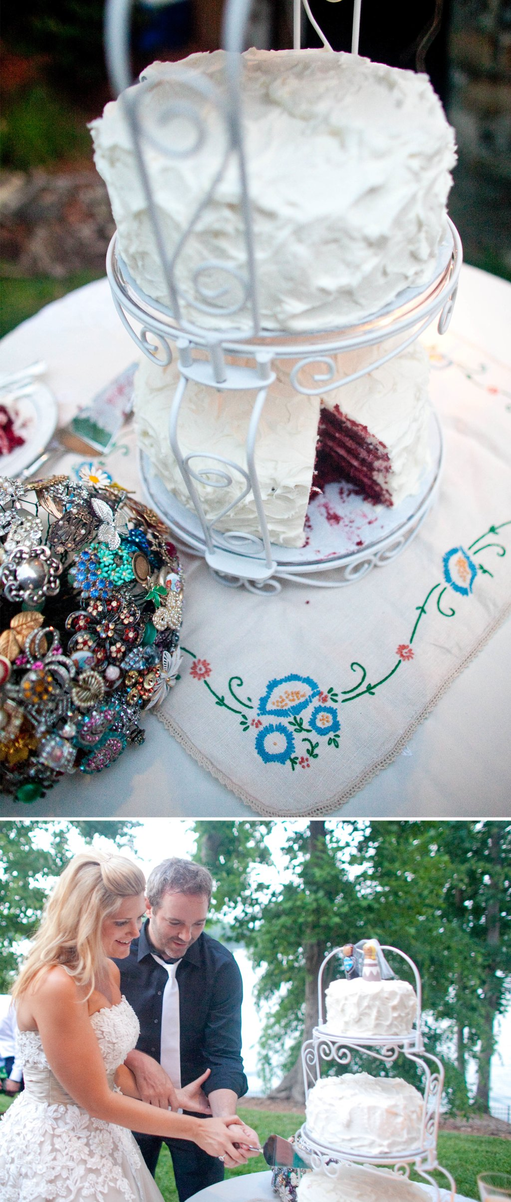 White-wedding-cake-outdoor-wedding.full