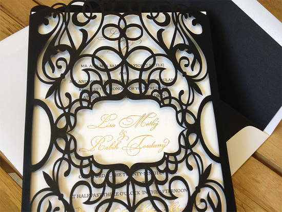 photo of Laser Creative Wedding Invitations