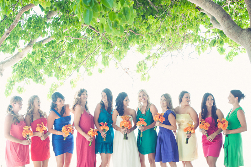 Bright-colored-mix-and-match-bridesmaid-summer-weddings.full