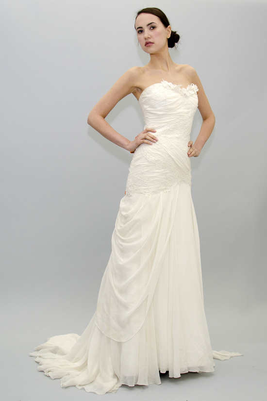 Eloise Drop Waste Wedding Dress
