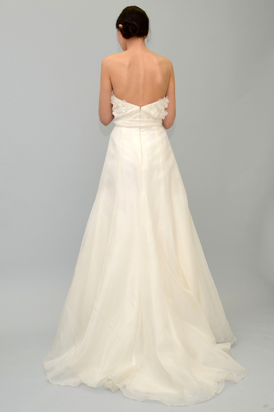 Martha back wedding dress