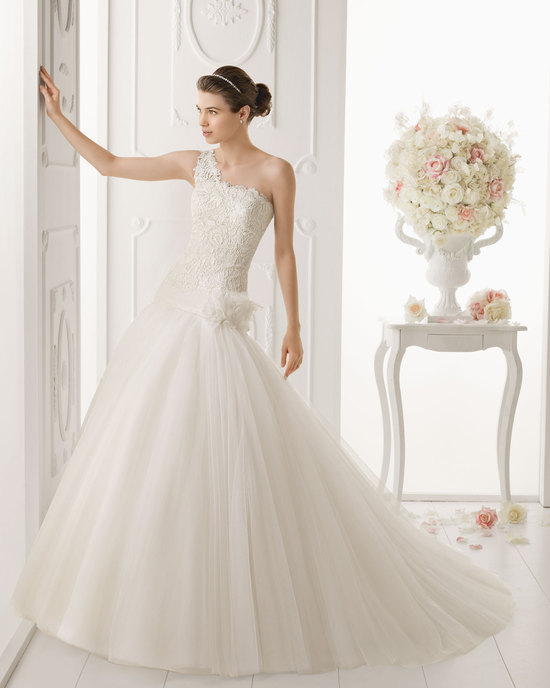 Aire Barcelona wedding dress 2014 Bridal Oasis