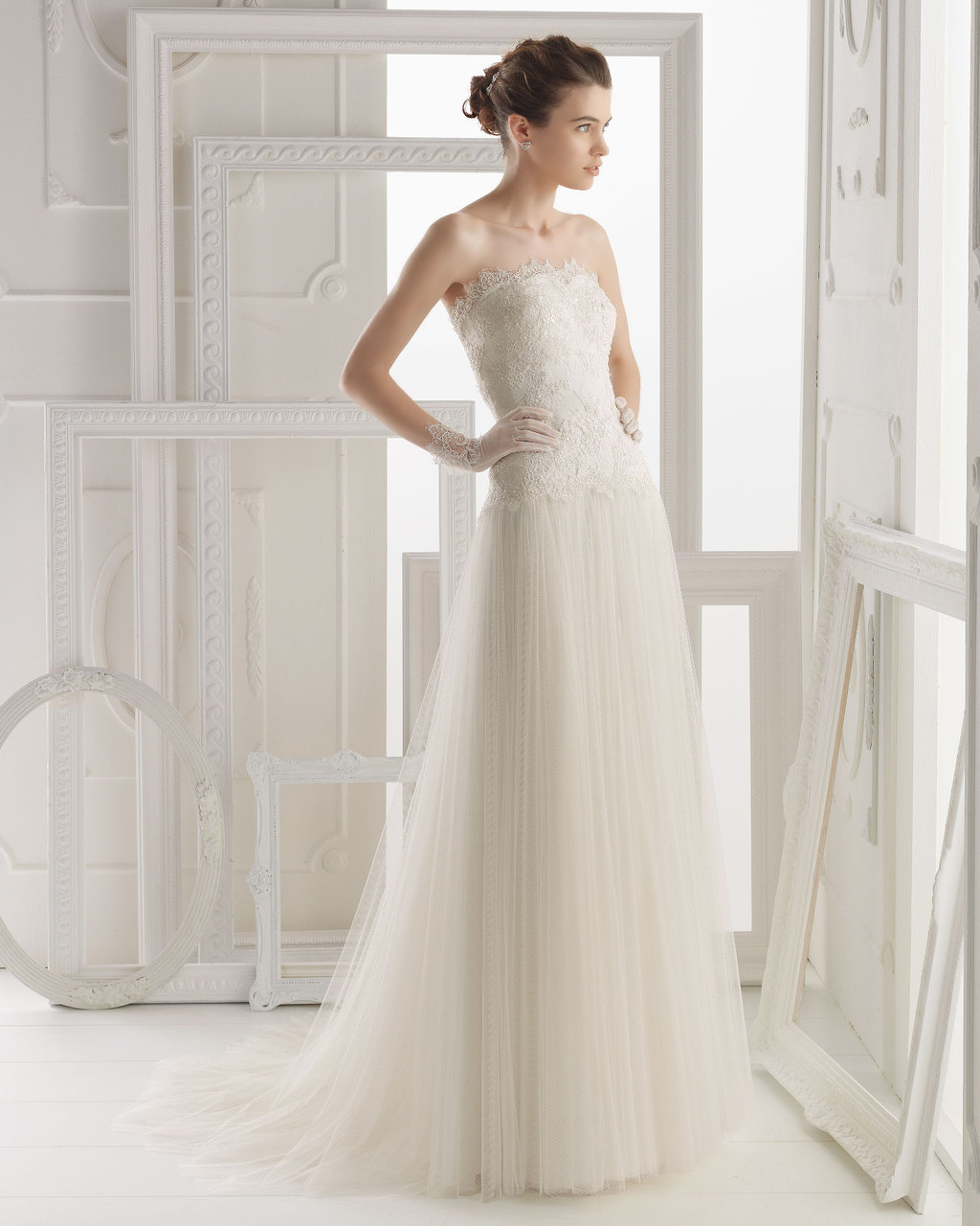 Aire Barcelona wedding dress 2014 Bridal Obadia