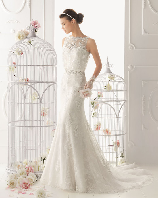 Aire Barcelona wedding dress 2014 Bridal Odete