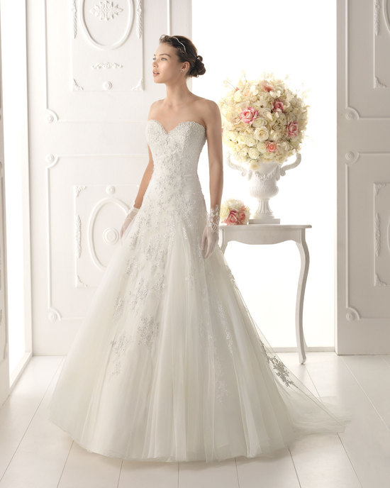 Aire Barcelona wedding dress 2014 Bridal Ofelia