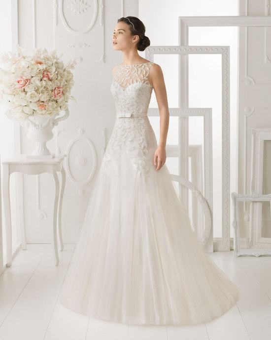 Aire Barcelona wedding dress 2014 Bridal Ohio