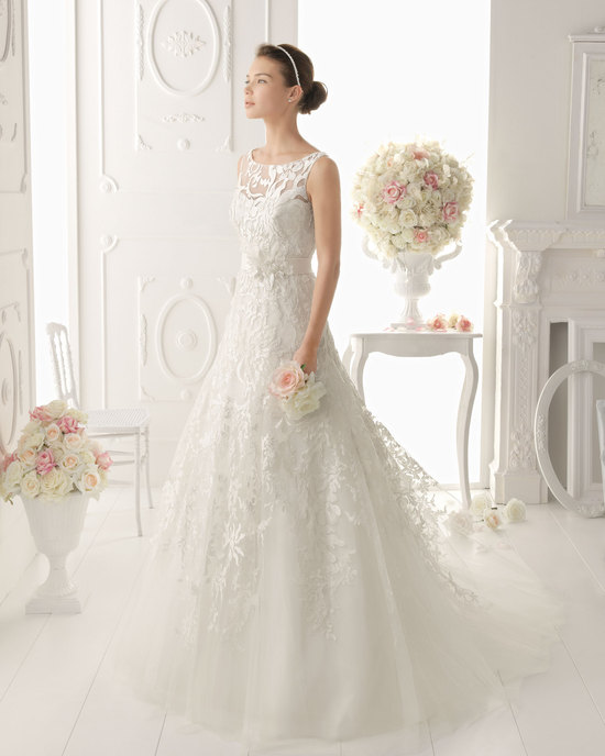 Aire Barcelona wedding dress 2014 Bridal Olesa