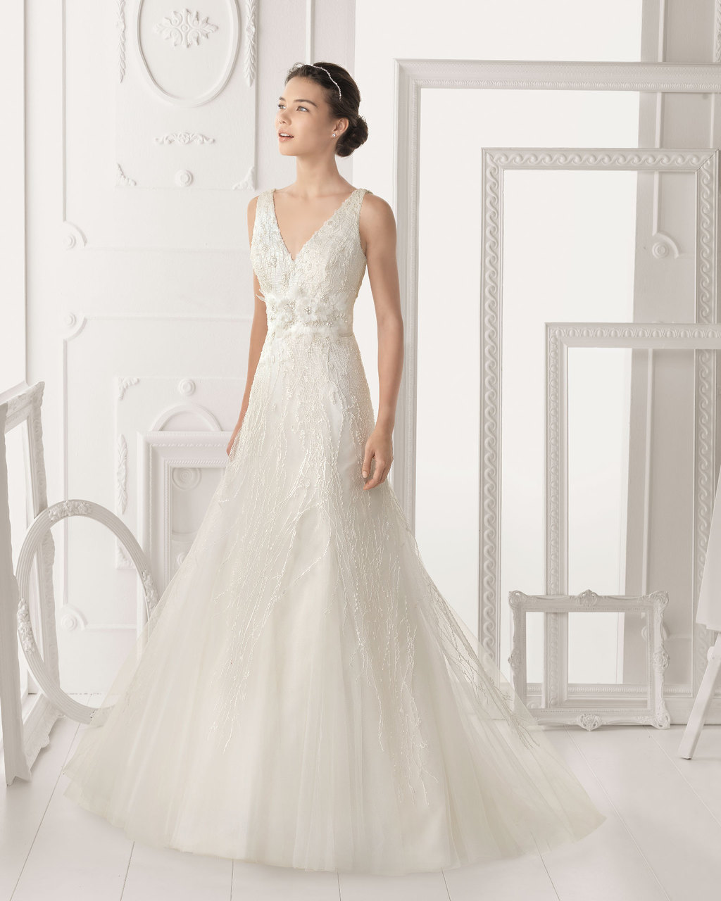 Aire Barcelona wedding dress 2014 Bridal Olimpia