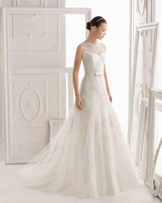 Aire Barcelona wedding dress 2014 Bridal Oliv