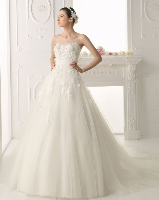 Aire Barcelona wedding dress 2014 Bridal Olvido