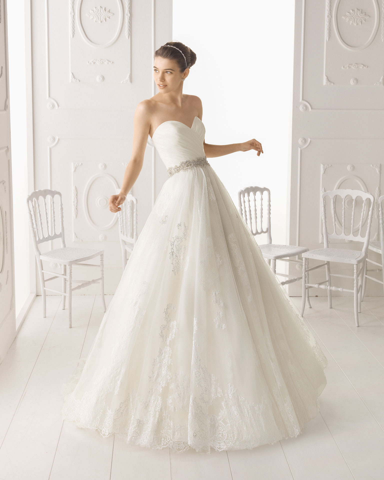 aire barcelona wedding dress 2014 bridal omega