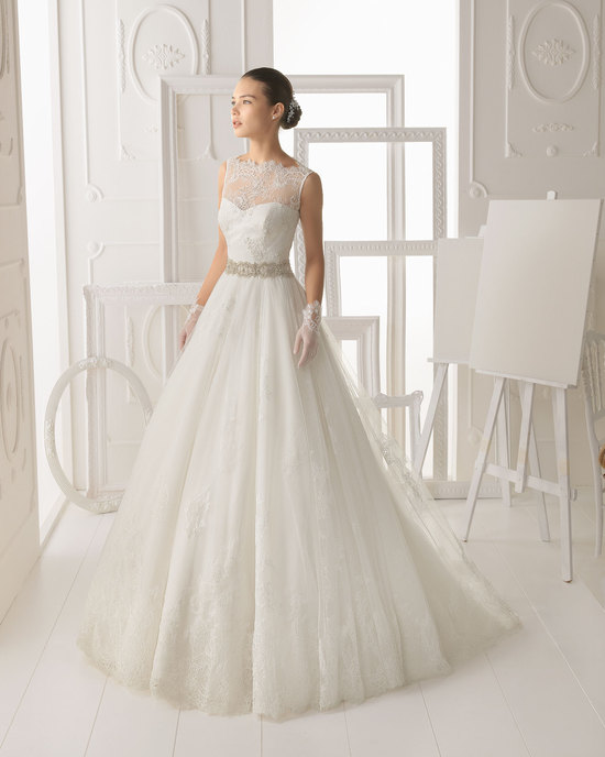 Aire Barcelona wedding dress 2014 Bridal Omero