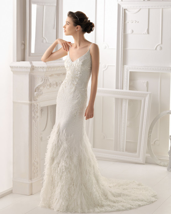 Aire Barcelona wedding dress 2014 Bridal Ondara