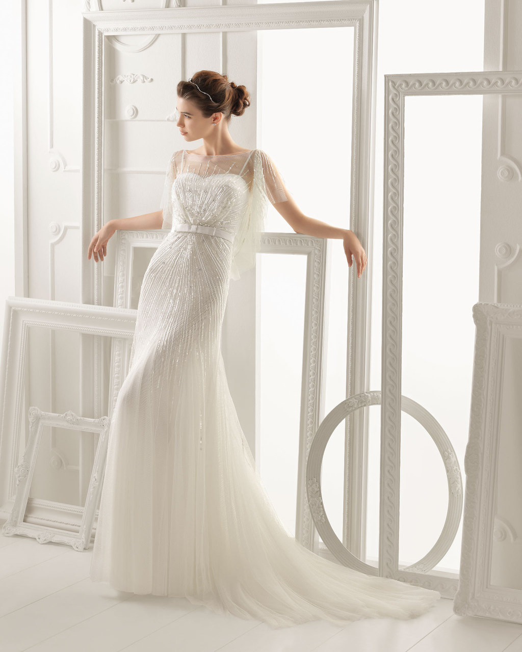 Aire Barcelona wedding dress 2014 Bridal Oneida