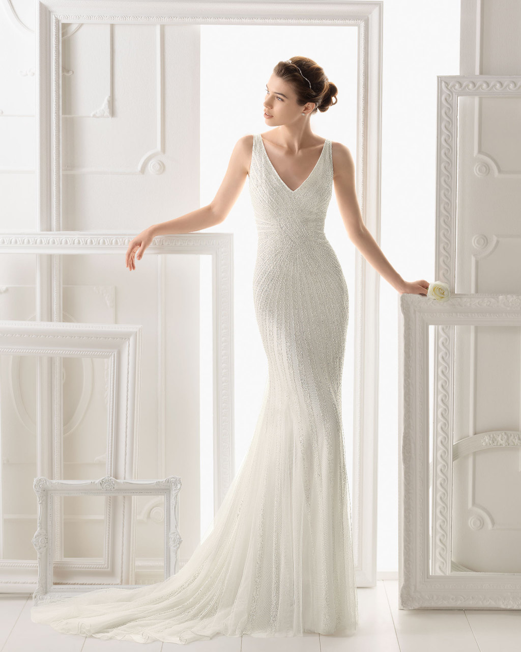Aire Barcelona wedding dress 2014 Bridal Onice