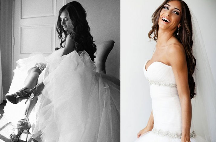 Cool Bombshell Wedding Hair Loose Waves All Down Bridal Hairstyles Short Hairstyles For Black Women Fulllsitofus