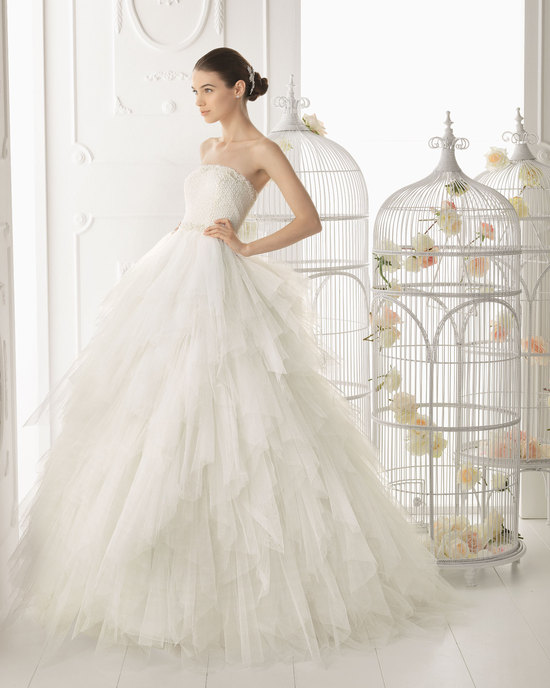 Aire Barcelona wedding dress 2014 Bridal Ordesa